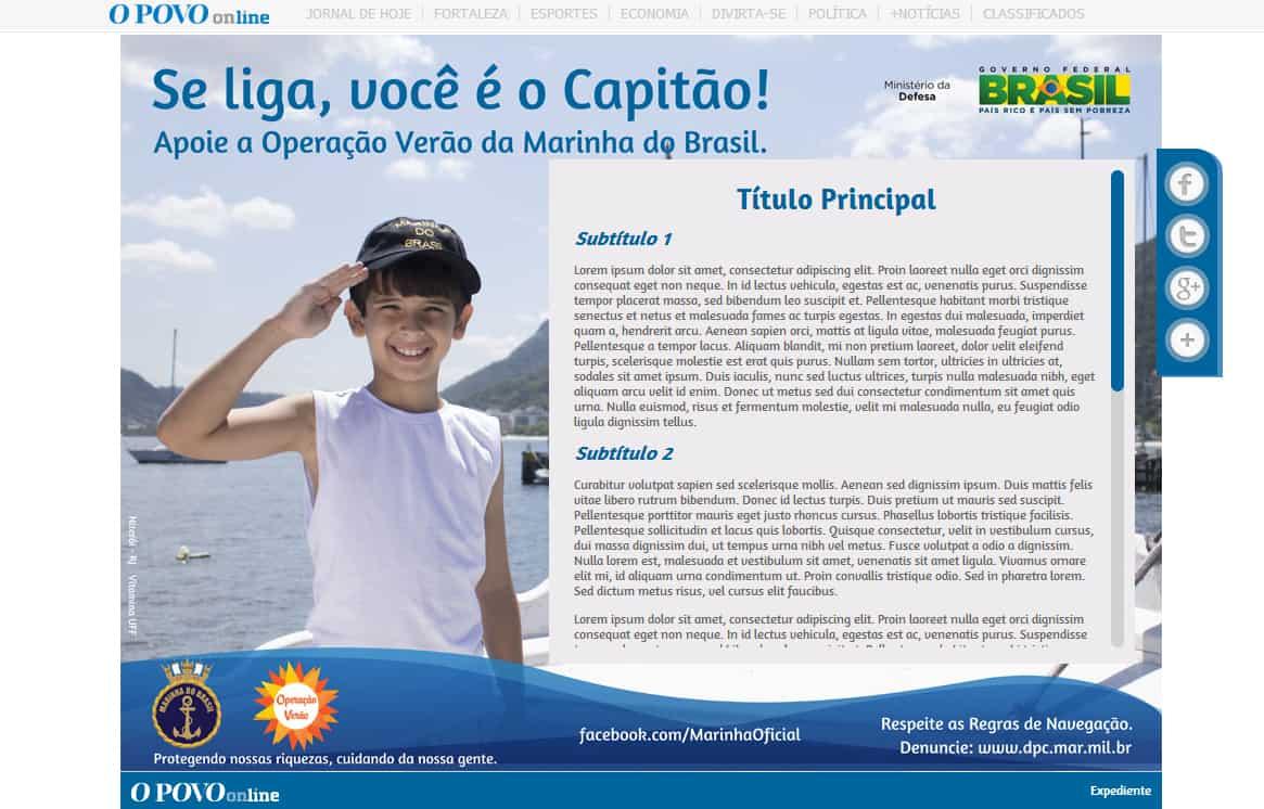Index - Hotsites O POVO
